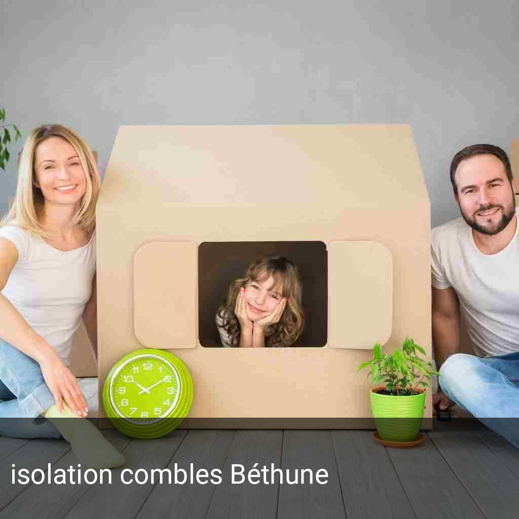 isolation combles Béthune